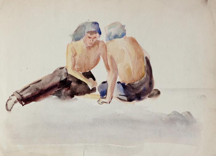 Селиков Н. Набросок