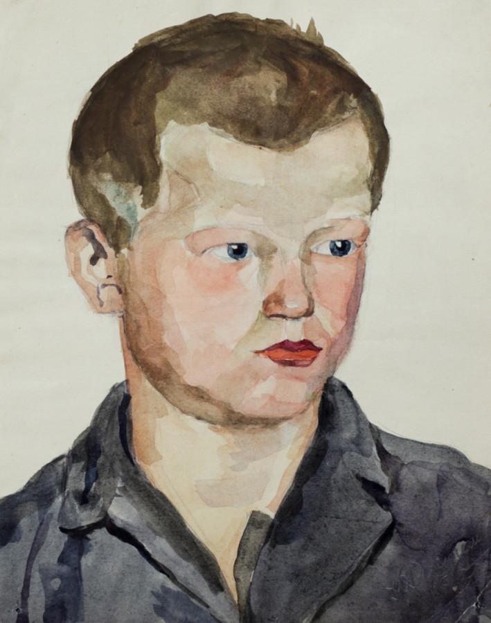 Ростемберский Ю.В. Портрет мальчика