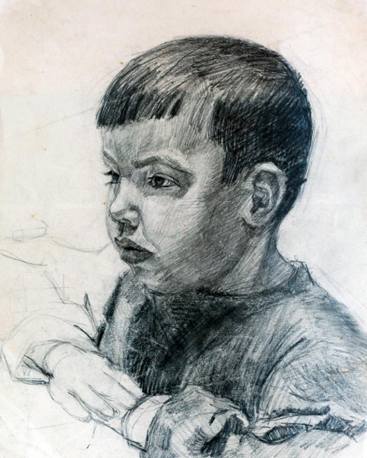 Ростемберский Ю.В. Портрет сестренки