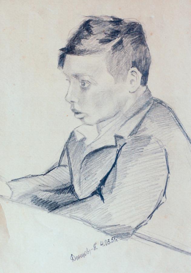 Донцов Г. Мальчик
