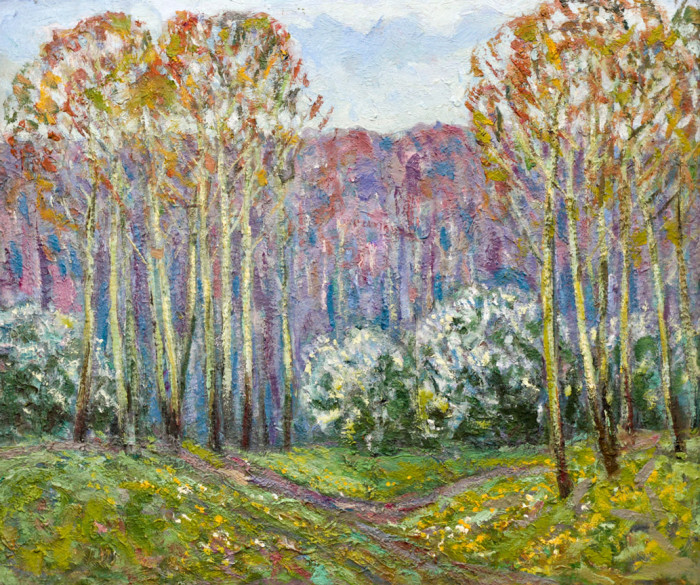 Харин Г.Е. Весенний пейзаж