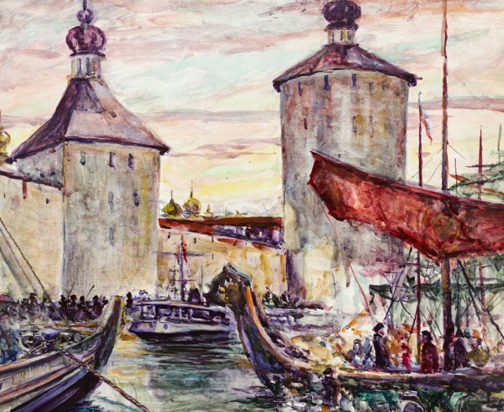 Ерёменко П.Я. Исторический пейзаж