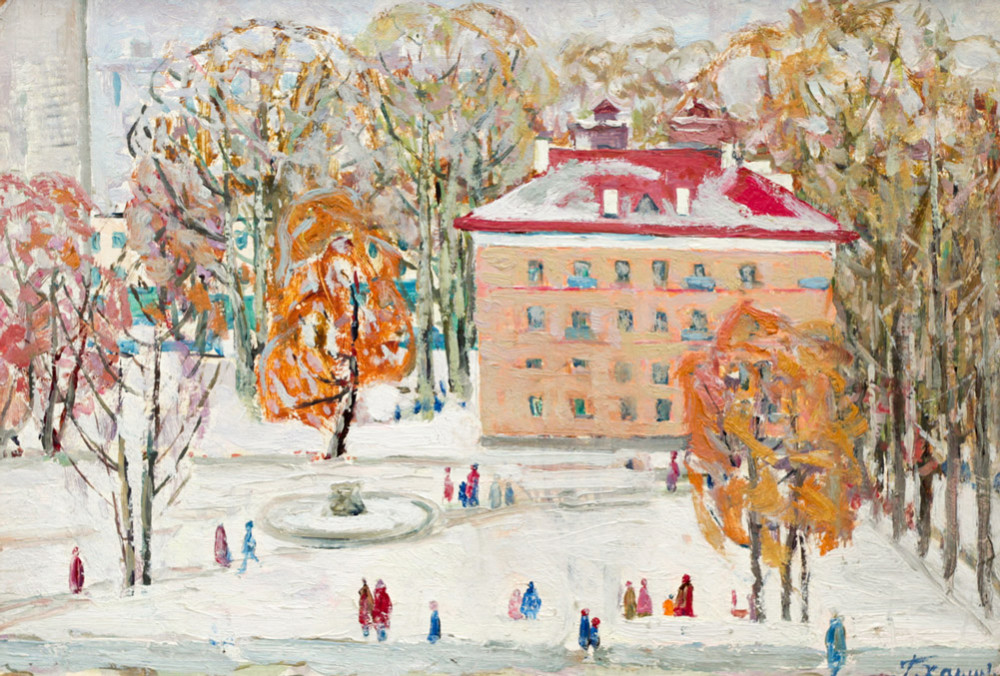 Харин Г.Е. Первый снег