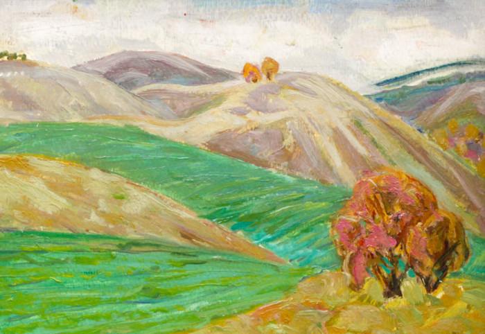 Харин Г.Е. Осенние поля