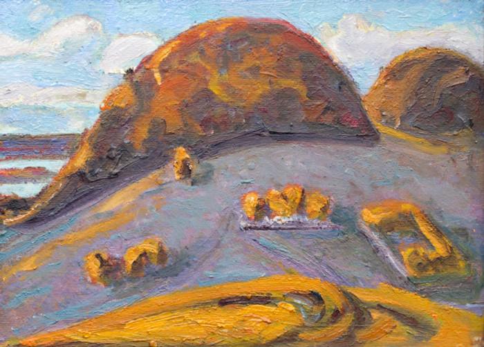 Харин Г.Е. Осенние холмы