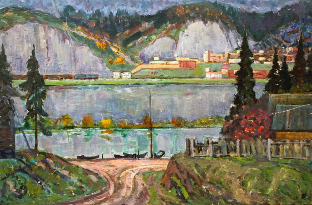 Харин Г.Е. Станция Биянка