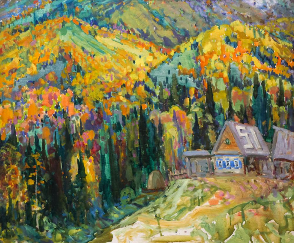 Харин Г.Е. Домик в горах