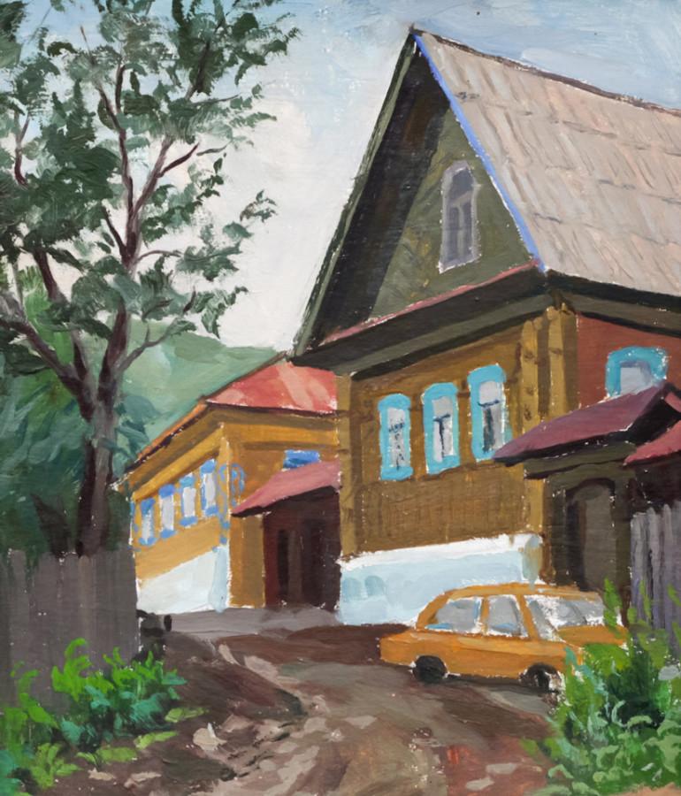 Огородов Г.В. Деревенская улица