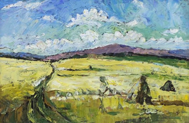 Стремоухова С. Пшеничное поле