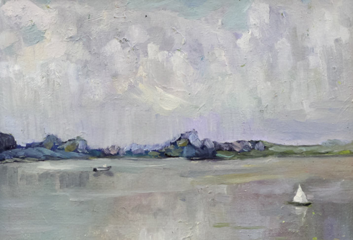 Рыбаков А.А. На реке Белой