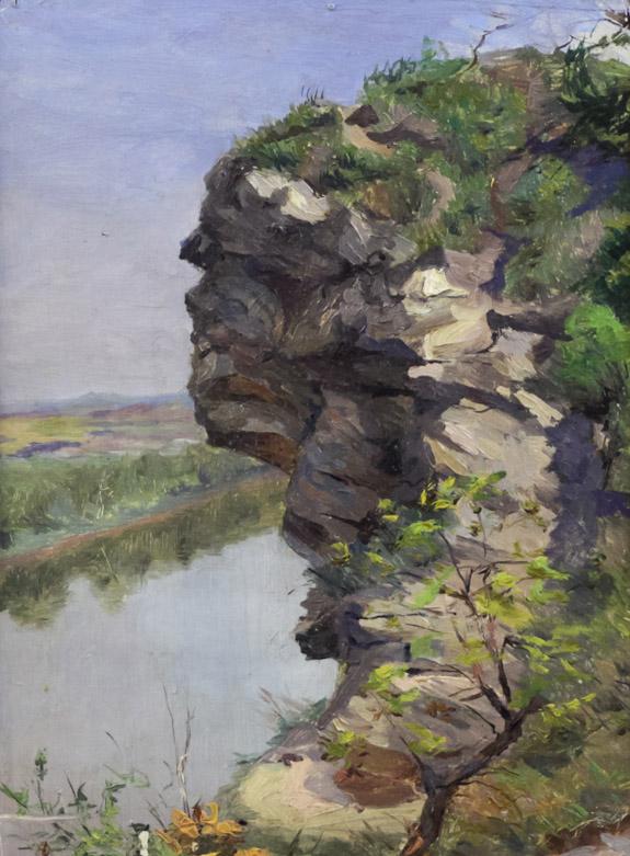 Мураев П. Нависший камень