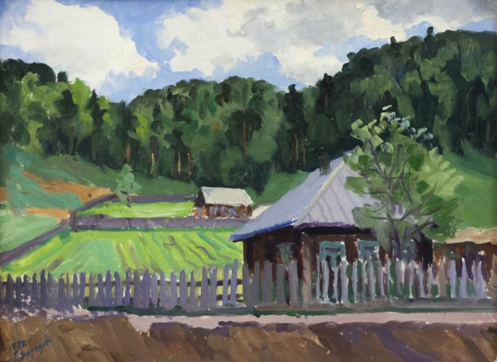 Огородов Г.В. В деревне