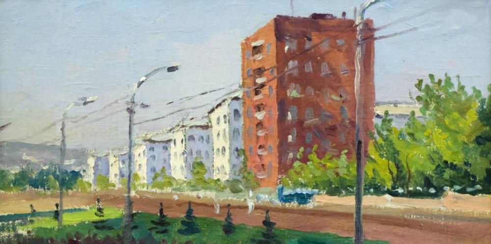 Огородов Г.В. Городской пейзаж