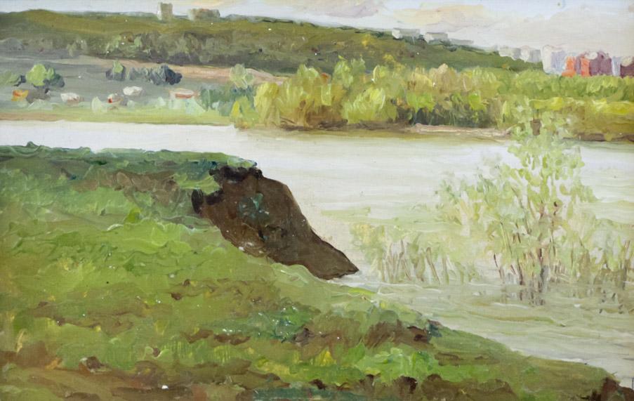 Беляков В. Протока на реке Уфимке
