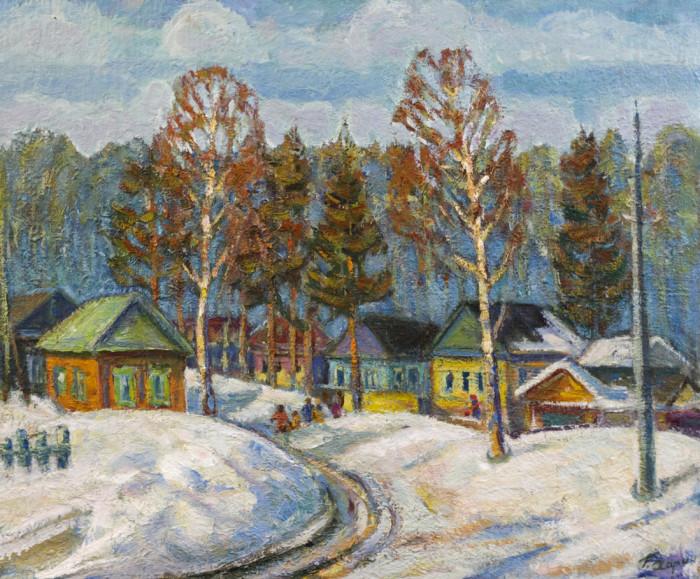 Харин Г.Е. Деревенская улица