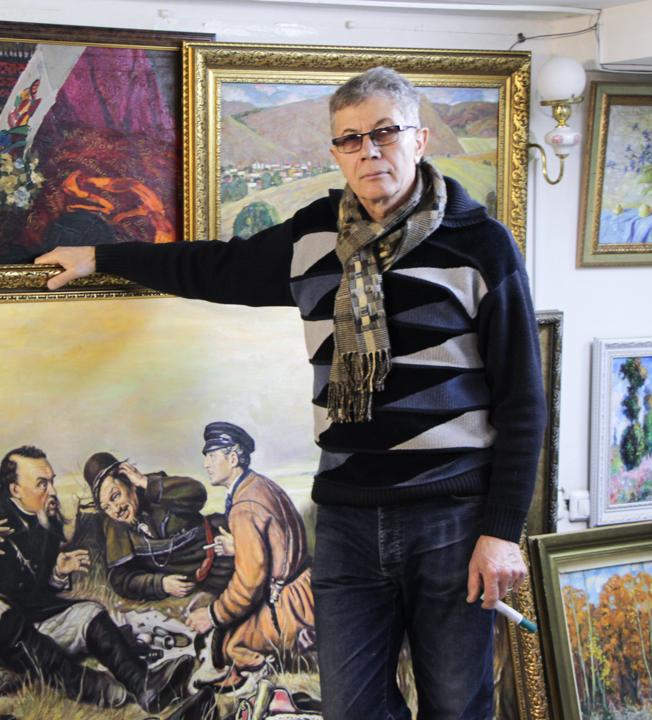 Александр Харин в Арт-салоне