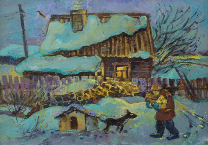 Стремоухова С. Холодная зима
