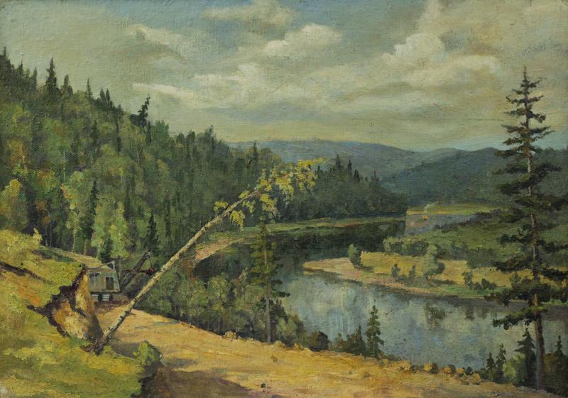 Литвинов С.А. Вдоль реки