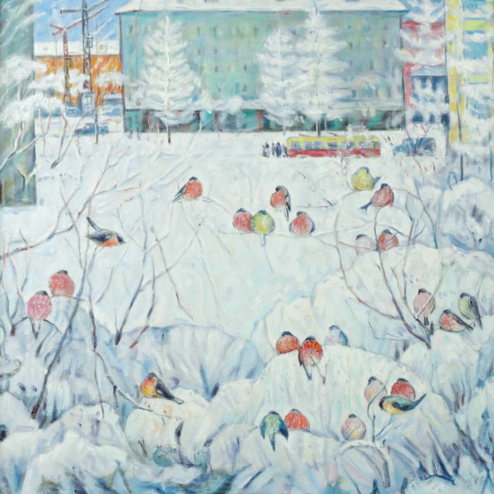 Харин Г.Е. Снегири