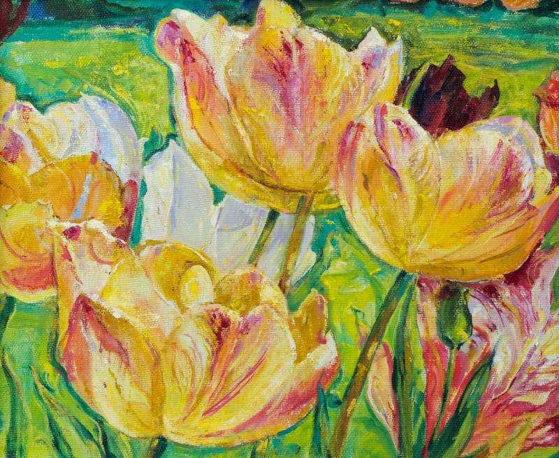 Стремоухова С. Тюльпаны в саду